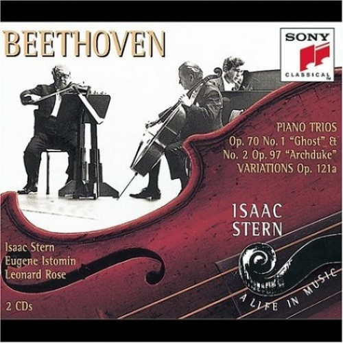 """Beethoven: Piano Trios Op. 70 No. 1 """"Ghost"""" & No. 2 """"Archduke""""; Variations Op. 121a"""