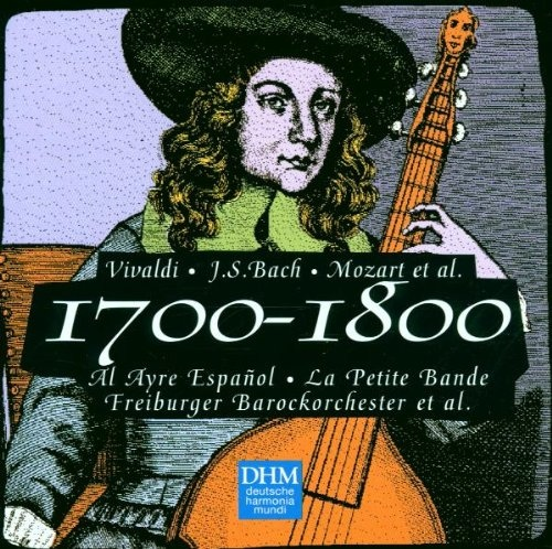 The Years 1700-1800: Vivaldi, Bach,  Mozart, et al.