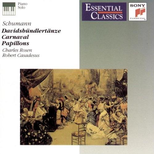 Schumann: Carnaval; Papillons; Davidsbundlertänze