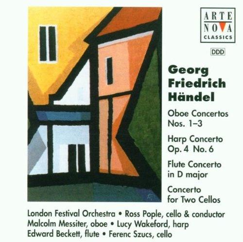 Oboe Concertos 1-3/Harp Concerto Op 4