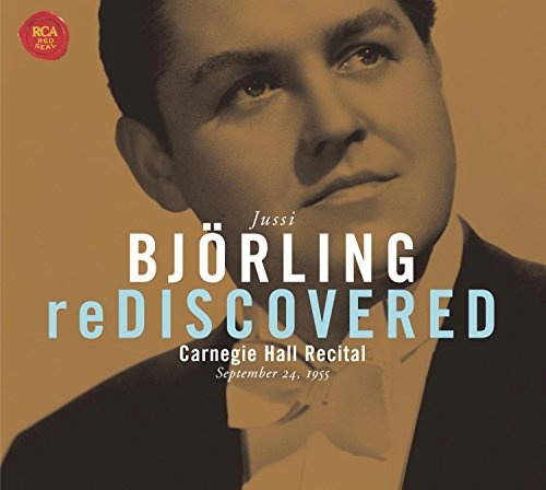 Björling Rediscovered: Carnegie Hall Concert Sept. 24 1955