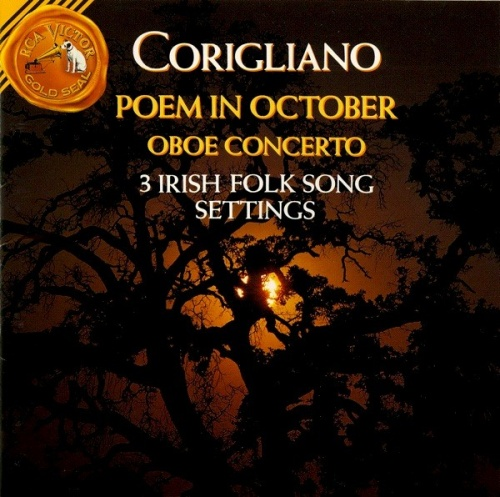 John Corigliano: Oboe Concerto/3 Irish Folk Song Settings/Poem In October