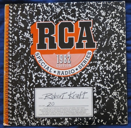 RCA Special Radio Series, Vol. 20