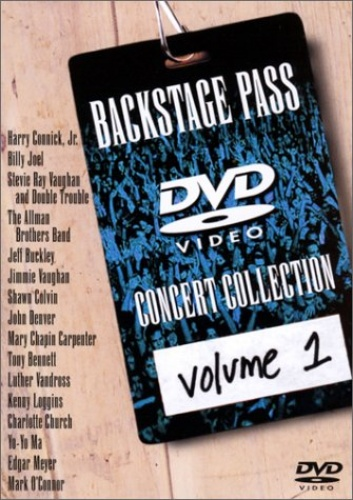 Backstage Pass: A DVD Concert Collection, Vol. 1
