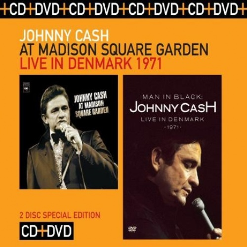 At Madison Square Garden/Man in Black: Live in Denmark 1971