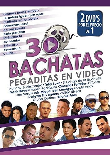 30 Bachatas Pegaditas en Video