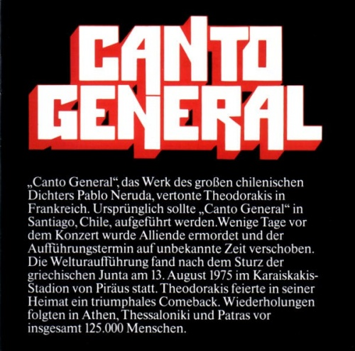 Canto General [RCA]