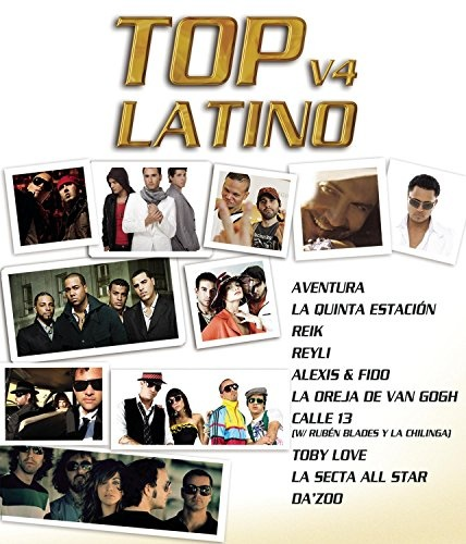 Top Latino, Vol. 4 [DVD]