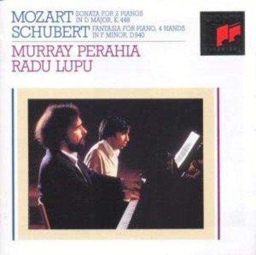Mozart: Sonata for 2 Pianos in D major; Schubert: Fantasia for Piano, 4 hands in F minor