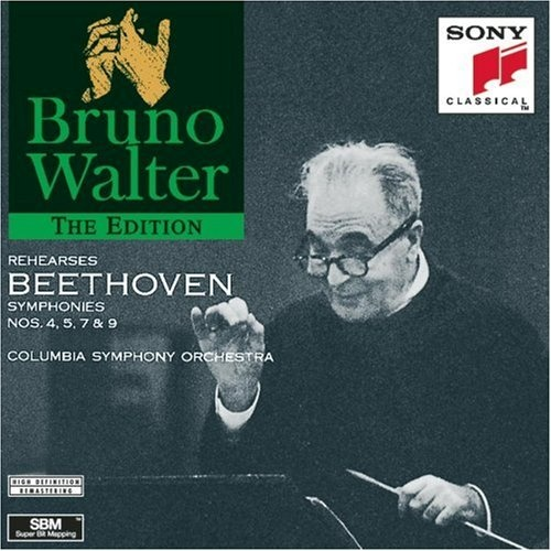 Bruno Walter Rehearses Beethoven Symphonies Nos. 4, 5, 7 & 9