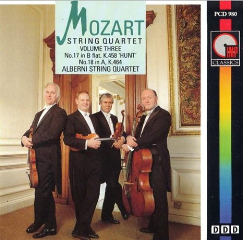 Mozart: String quartets No18