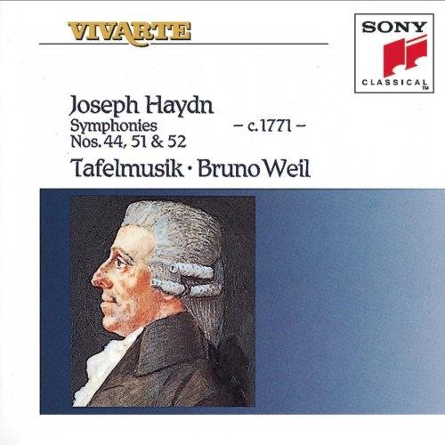 Haydn: Symphonies No. 44, No. 51, & No. 52