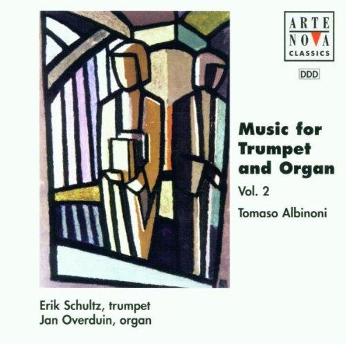 Music for Trumpet and Organ, Vol. 2: Tomaso Albinoni