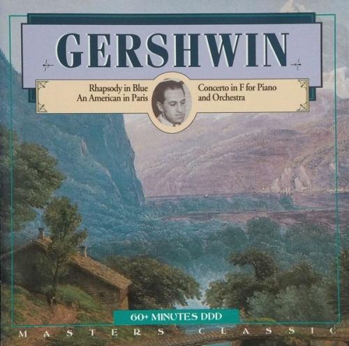 Gershwin: Rhapsody; Concerto for piano in F