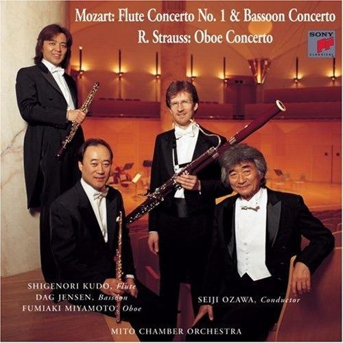 Mozart: Flute Concerto No. 1; Bassoon Concerto; R. Strauss: Oboe Concerto