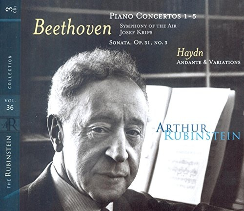 Rubinstein Collection, Vol  36 - Arthur Rubinstein | Songs
