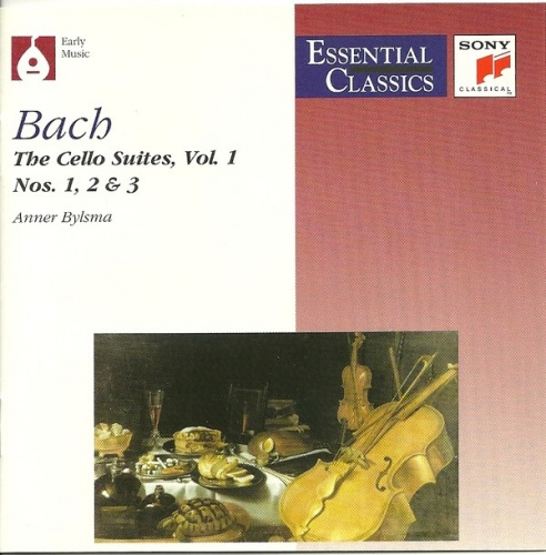 Bach: Cello Suites Vol.2