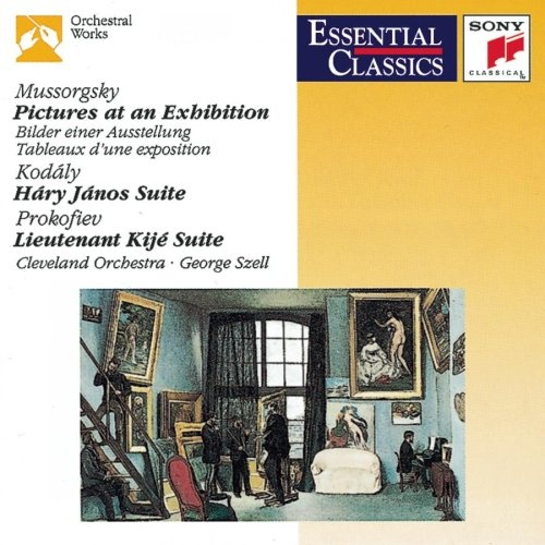 Mussorgsky: Pictures at an Exhibition; Kodály: Háry János Suite; Prokofiev: Lt. Kijé Suite