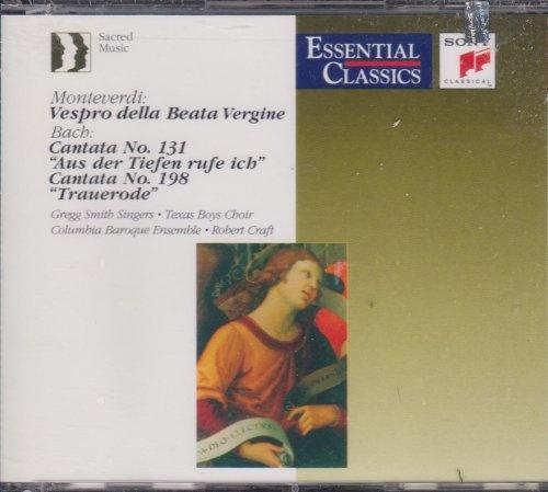Monteverdi: Vespro della Beata Vergine; Bach: Cantata No. 131; Cantata No. 198
