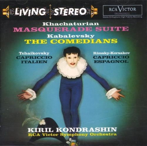 Khachaturian: Masquerade Suite; Kabalevsky: The Comedians