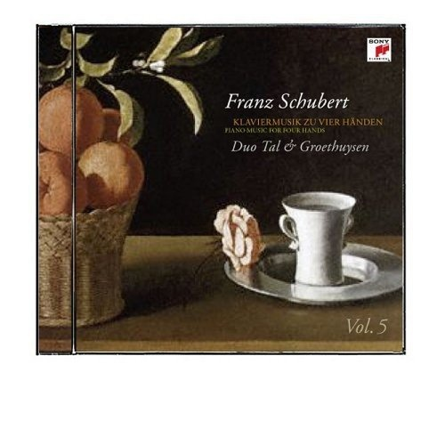 Schubert: Pno Music for 4 Hands 5