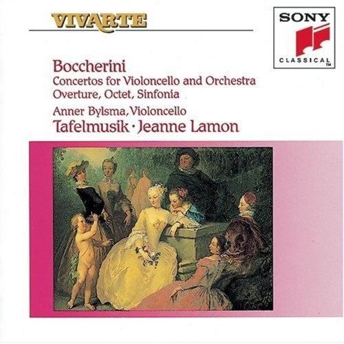Luigi Boccherini: Concertos for Violoncello and Orchestra; Overture; Octet; Sinfonia