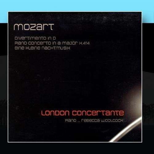 Mozart: Divertimento in D; Piano Conceerto in A major, K 414; Eine kleine Nachtmusik