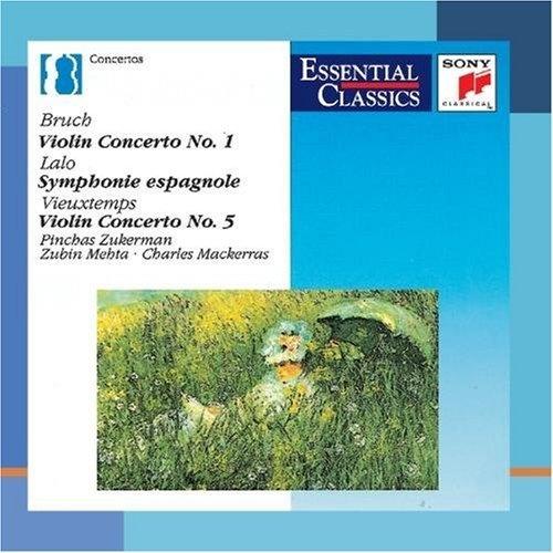 Bruch: Violin Concerto No. 1; Lalo: Symphonie Espangnole; Vieuxtemps: Violin Concerto No. 5