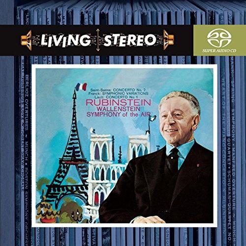 Saint-Saëns: Concerto No. 2; Franck: Symphonic Variations; Liszt: Concerto No. 1
