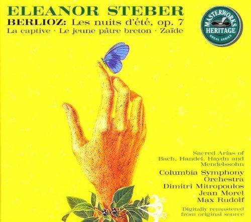 Berlioz: Les nuites d'été; La Captive; Le jeune pâtre breton; Zaïde