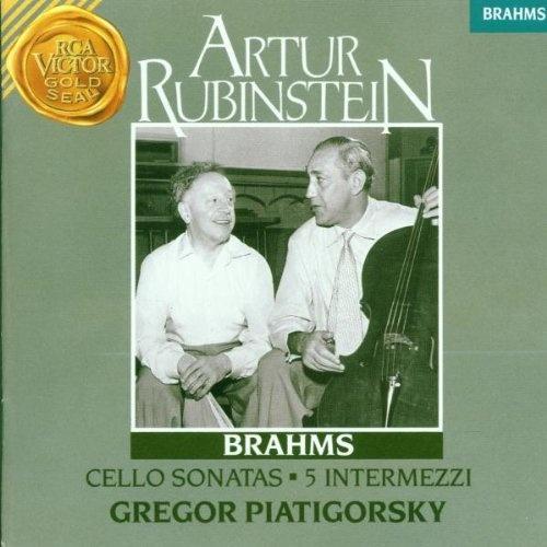 Johannes Brahms: Cello Sonatas 1 & 2, 5 Intermezzi