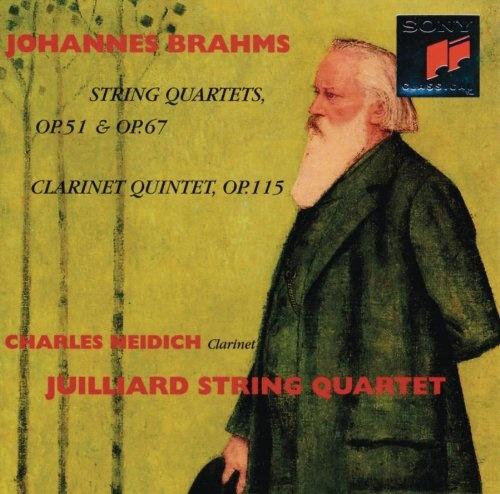 Brahms: String Quartets, Opp. 51 & 67; Clarinet Quintet, Op. 115