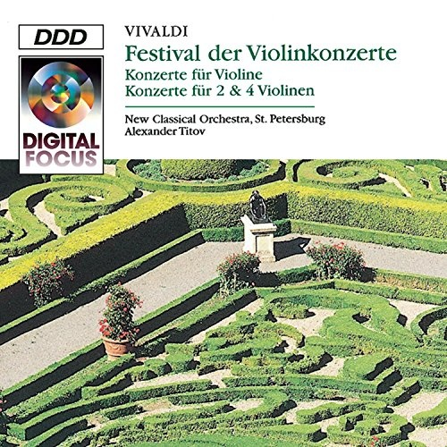 A Violin Festival: Concertos by Vivaldi for Violin & Orchestra