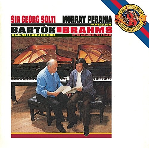 Bartók: Sonata for Two Pianos & Percussion; Brahms: Variations on a Theme by Joseph Haydn for 2 Pianos, Op. 56b