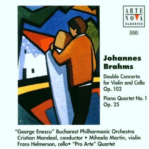 Brahms: Concerto for violin & cello; Piano Quartet No. 1