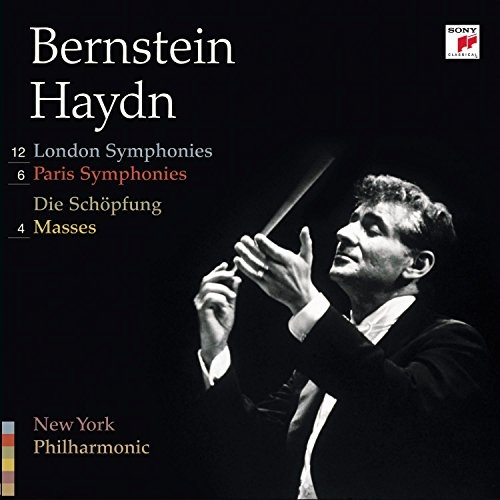 Haydn: 12 London Symphonies; 6 Paris Symphonies; Die Schöpfung; 4 Masses