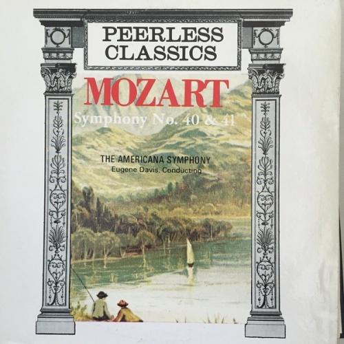 Mozart: Symphony No40; Symphony No41