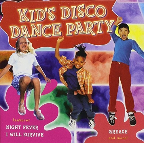 The Kid's Dance Express: Kid's Disco Dance Party