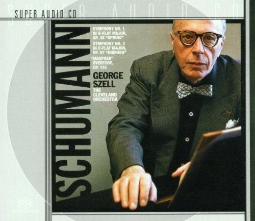 Schumann: Symphonies Nos. 1 & 3; Manfred Overture [SACD]