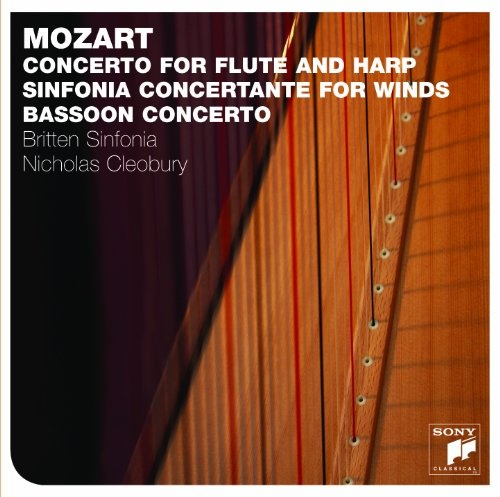 Mozart: Concerto for Flute and Harp; Sinfonia Concertante for Winds; Bassoon Concerto
