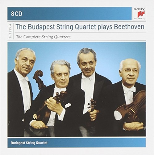 The Budapest String Quartet Plays Beethoven: The Complete String Quartets [1958-61]