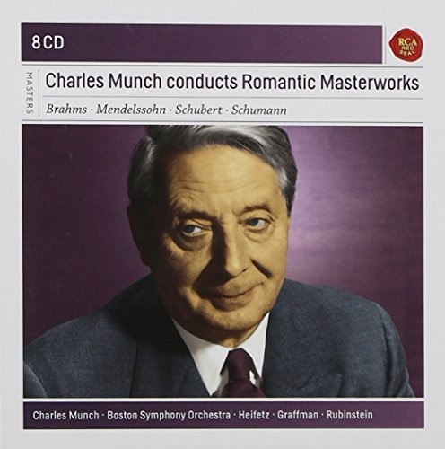 Charles Munch Conducts Romantic Masterworks