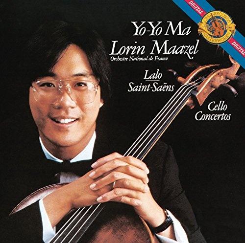 Lalo, Saint-Saëns: Cello Concertos - Yo-Yo Ma, Lorin Maazel
