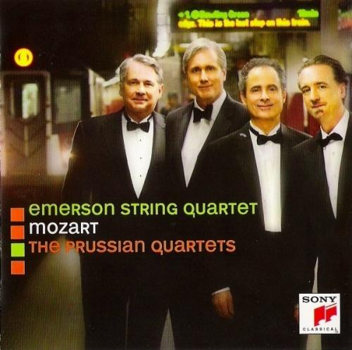 Mozart: The Prussian Quartets - Emerson String Quartet | Songs