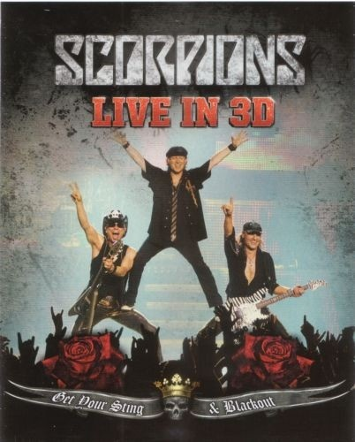 Live in 3D: Get Your Sting & Blackout