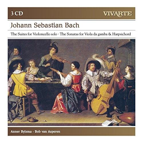 Bach: The Suites for Violoncello solo; The Sonatas for Viola da Gamba & Harpsichord