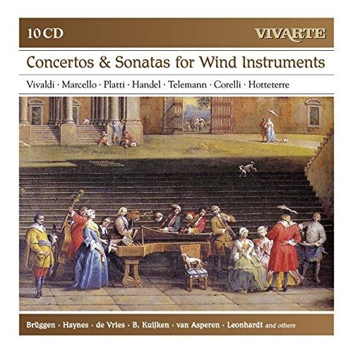Concertos & Sonatas for Wind Instruments: Vivaldi, Marcello, Platti, Handel, Telemann, Corelli, Hotteterre