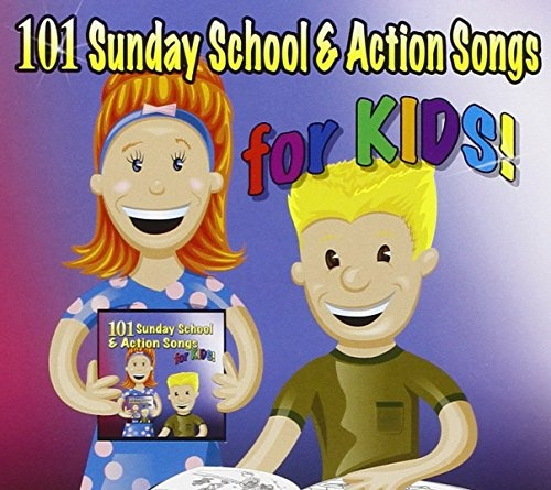 101 Sunday School &  Action Songs for Kids