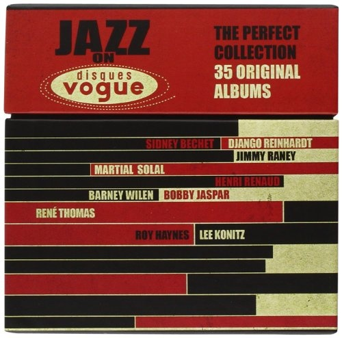 jazz on disques vogue the perfect collection 35 original albums