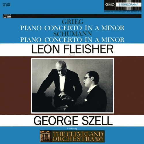 Grieg: Concerto in A minor for Piano and Orchestra, Op. 16; Schumann: Concerto in A minor for Piano and Orchestra